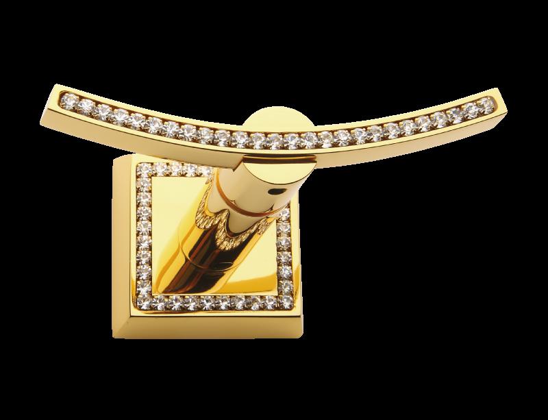 Mimoza s čírym kryštálom