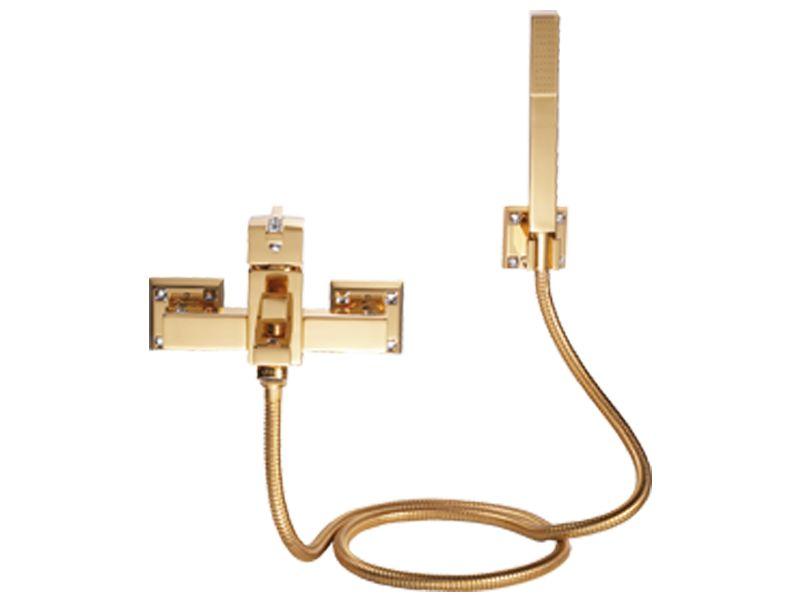 Sprchová baterie Tria s potahem 24k zlata