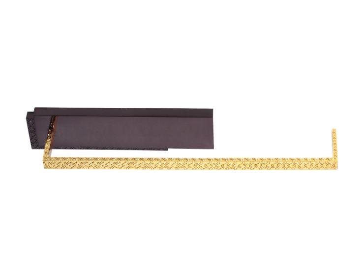 Tyč na papierové utierky Frame s poťahom 24k zlata