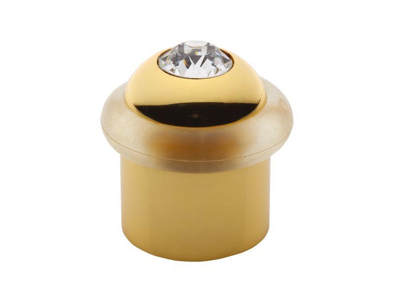 Dveřní zarážka Mondeo s krystalem s potahem 24k zlata