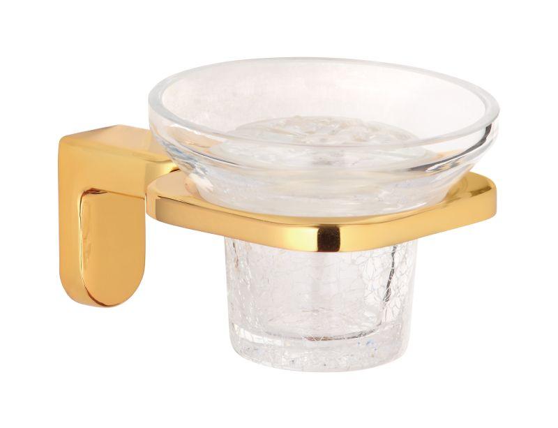 Miska na tuhé mýdlo Gusto s potahem 24k zlata