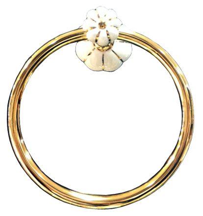 Kruh na uterák Nisa s poťahom 24k zlata