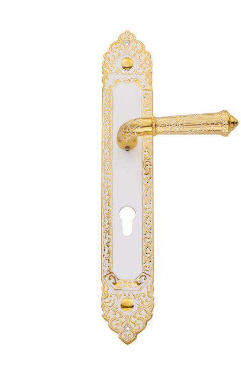 Dverová kľučka Palace Conchiglia štítková