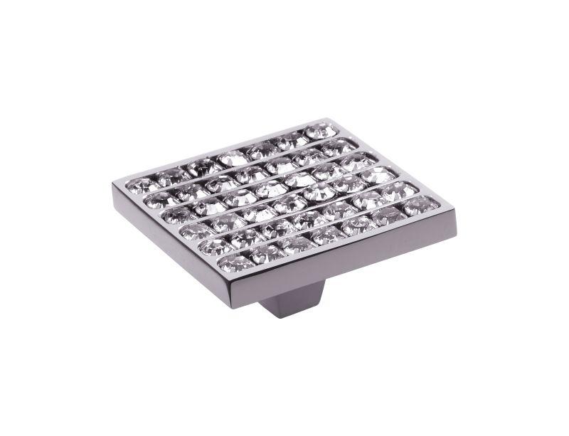 Nábytková knopka Rosa 50x50mm