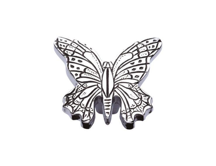 Nábytková knopka Butterfly 40x50mm