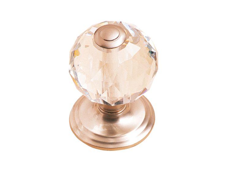 Dveřní koule Bebek -  chrom saten