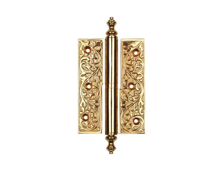 Dveřní pant Conchiglia s potahem 24k zlata