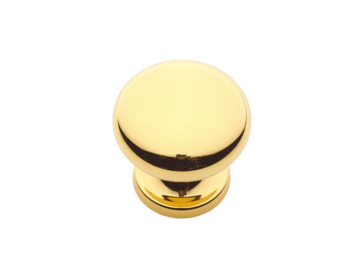 Nábytková knopka Burak s potahem 24k zlata