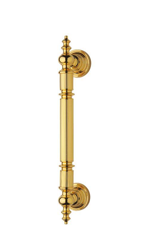Madlo Antik průměr 30mm, délka 70cm  s potahem 24k zlata