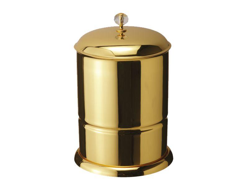 Koupelnový koš Bebek s potahem 24k zlata
