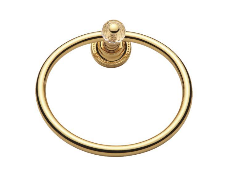 Kruh na ručník Bebek s potahem 24k zlata