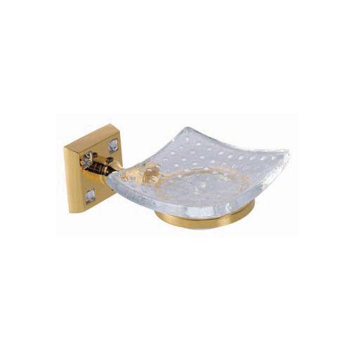 Porte-savon Tria revêtement or 24c