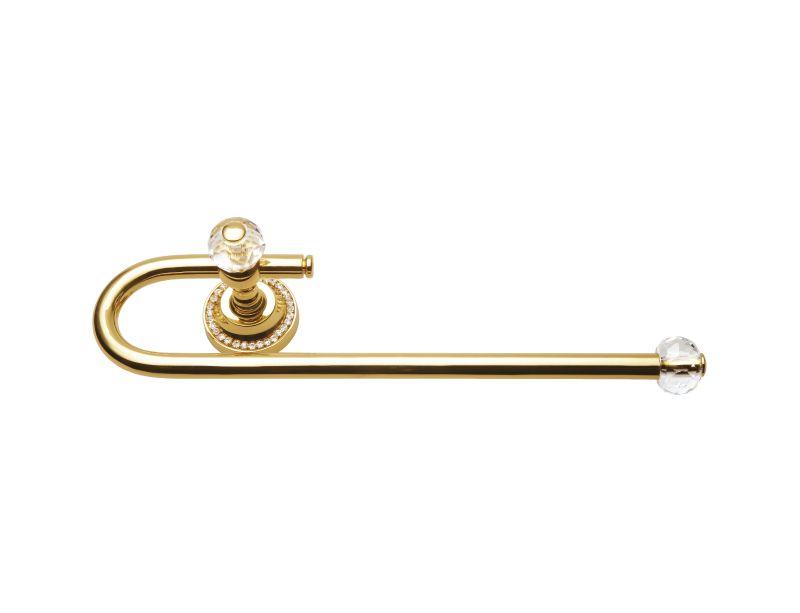 Oblá tyč na papírové utěrky Almara s potahem 24k zlata
