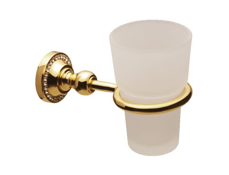 Téglik na kefky Almara s poťahom 24k zlata