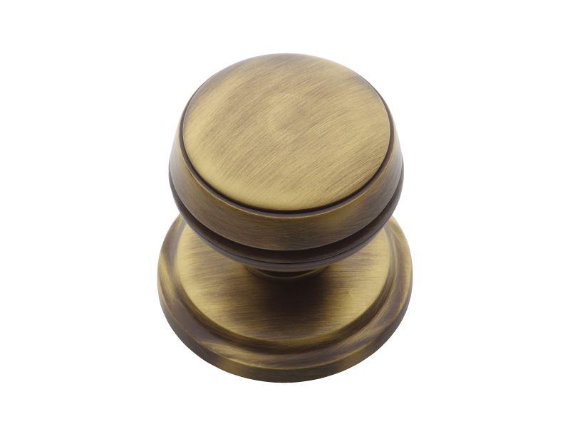 Dveřní koule Burak patinovaná mosaz