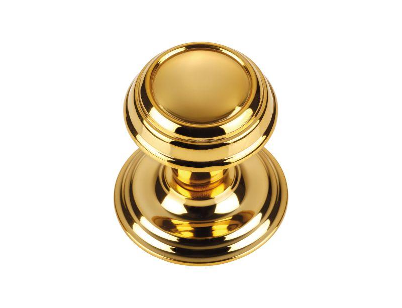 Dveřní koule Can s potahem 24k zlata