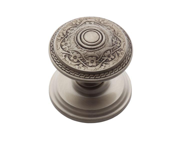 Dveřní koule Sefa antické stříbro