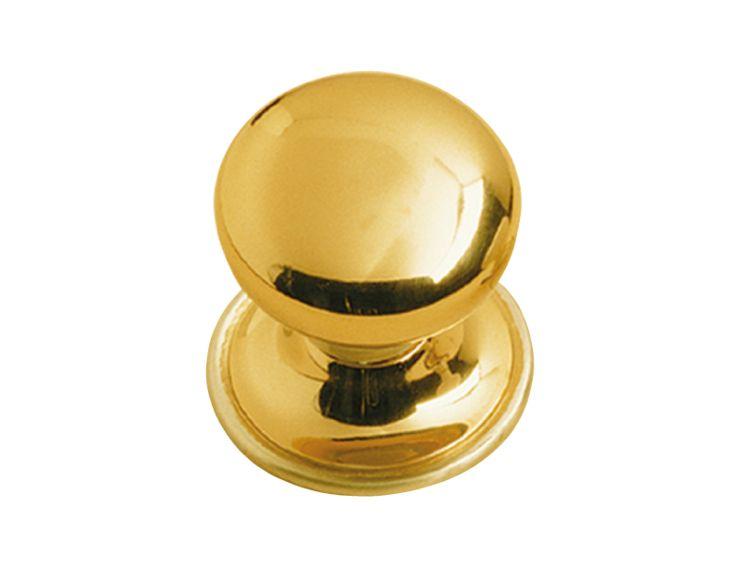 Dveřní koule Side s potahem 24k zlata