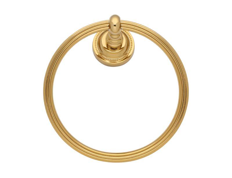 Kruh na ručník Antik s potahem 24k zlata