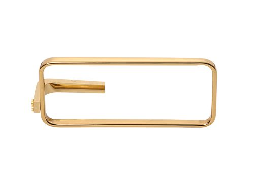 Kruh na ručník Elipse s potahem 24k zlata