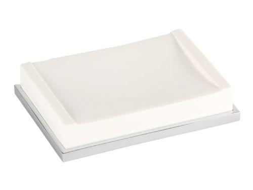 Miska na mýdlo Frame bez vzoru volně stojící