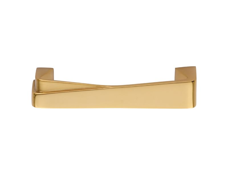 Nábytková úchytka Sabia 96mm s potahem 24k zlata