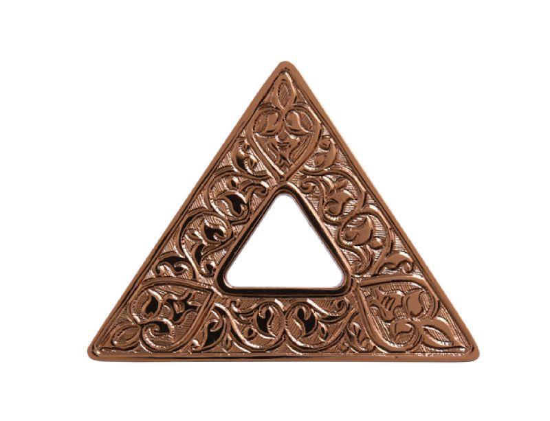 """Nábytková úchytka Triangl """"květiny"""""""