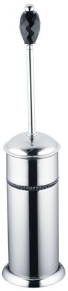 Brosse de toilette Almara (1 cristal) sans fixation