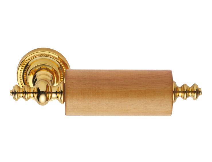 Úchyt na toaletní papír Antik s potahem 24k zlata