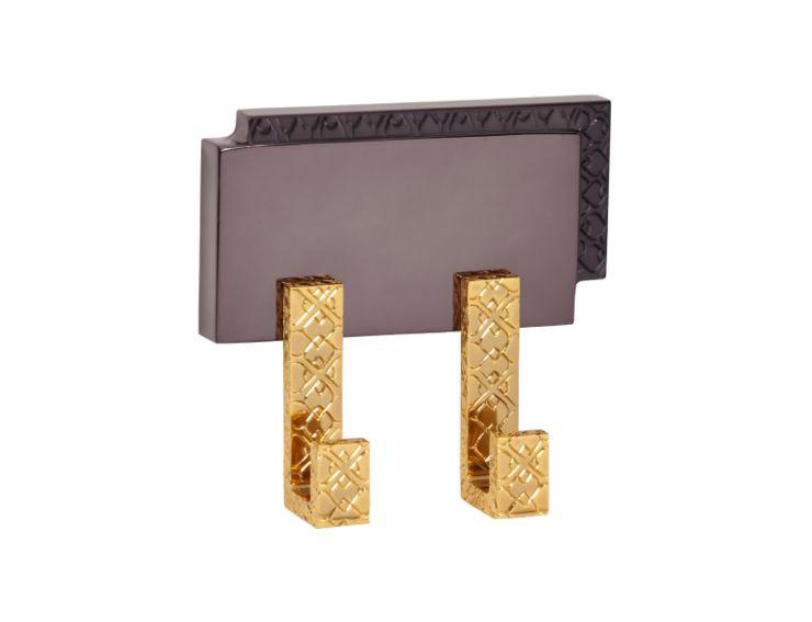 Dvojháček Frame potah zlato 24k