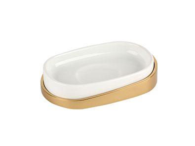 Miska na tuhé mýdlo Elipse s potahem 24k zlata