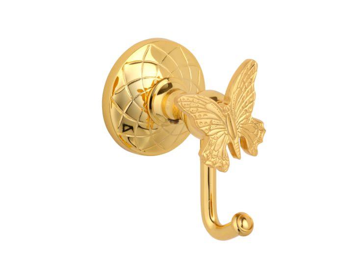 Háček Butterfly s potahem 24k zlata
