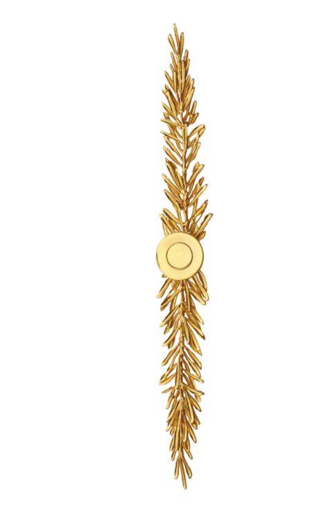 Nábytková úchytka Roayl 360mm s potahem 24k zlata