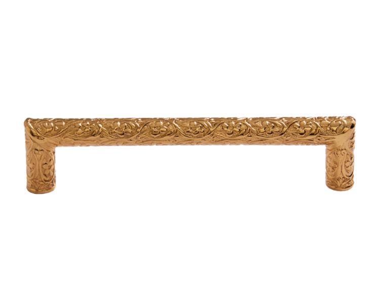 Nábytková úchytka Sefa 96mm s potahem 24k zlata
