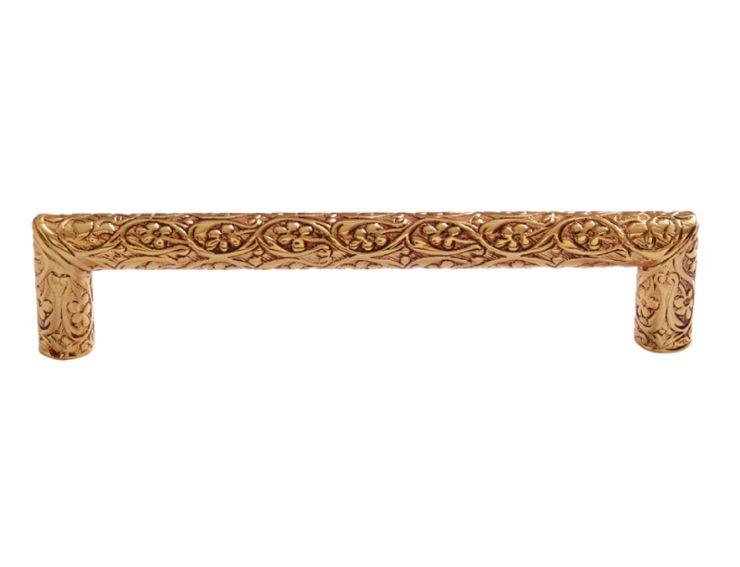 Nábytková úchytka Sefa 128mm s potahem 24k zlata