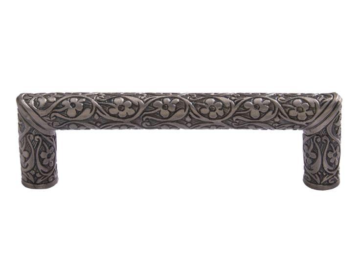 """Nábytková úchytka Sefa 96mm  """"antické stříbro"""""""