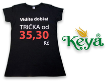 Skvělá trička za bezkonkurenční cenu představí společnost Repre s.r.o. na Marketing Mixu