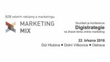 Stáhněte se elektronickou pozvánku na Marketing Mix Ostrava a vstup máte zadarmo