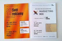 Marketing Mix není nový veletrh - navazuje na Svět reklamy