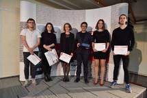 Ceny Young Architect Award 2016 předány