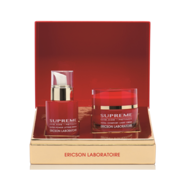 E1414 ERICSON LABORATOIRE - SUPREME EXTRA NUTRITION RICH CREAM + SUPER POWER LIFTING SERUM / EXTRA BOHATÝ KRÉM + LIFTINGOVÉ SÉRUM 50 + 30 ml