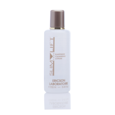 E2114 ERICSON LABORATOIRE - SLIM FACE LIFT - ELASTININE CLEANSING LOTION - REVITALISING CLEANSING LOTION 250 ml
